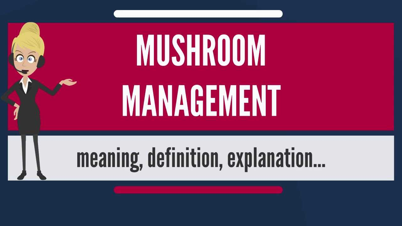 What is Mushroom Management and How to Avoid it